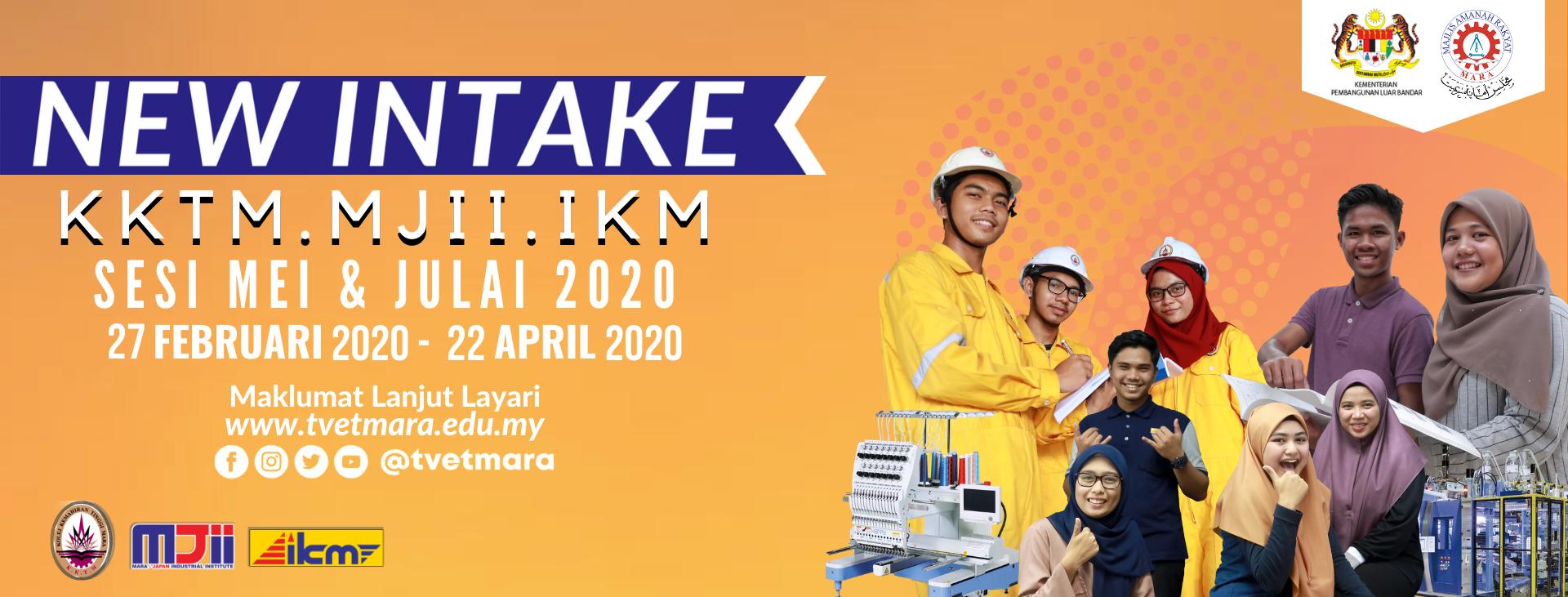 Borang Permohonan Online IKM KKTM & MJII 2020