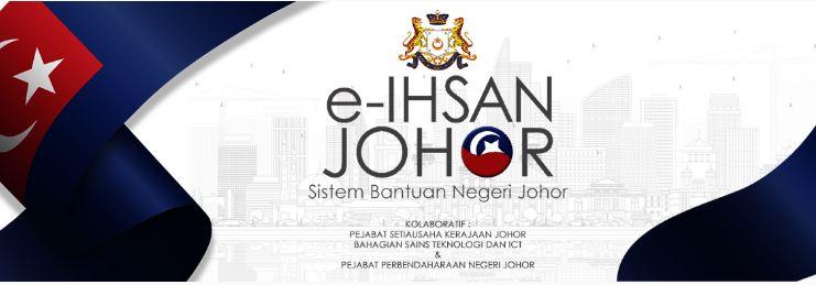 Semakan Permohonan Bantuan Ihsan Negeri Johor