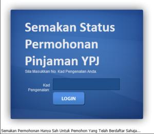 Permohonan Pinjaman Yayasan Pelajaran Johor