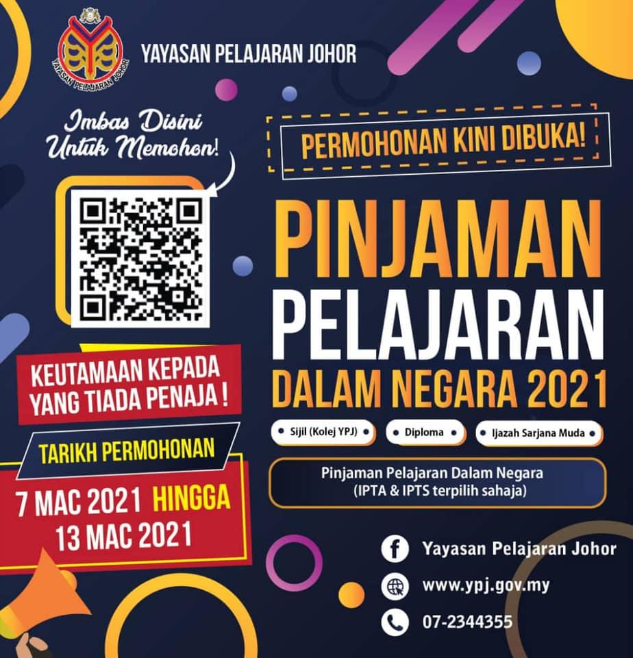 Pinjaman Yayasan Pelajaran Johor