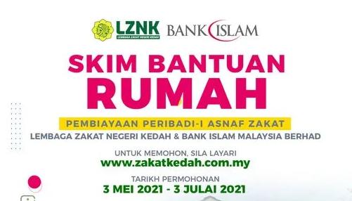 Bantuan Rumah Zakat Kedah: Borang Permohonan & Syarat Kelayakan