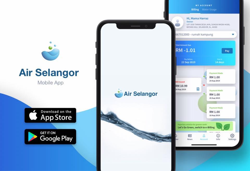 Semakan Bil Air Selangor Secara Online: Cara Daftar & Bayar Bil Air