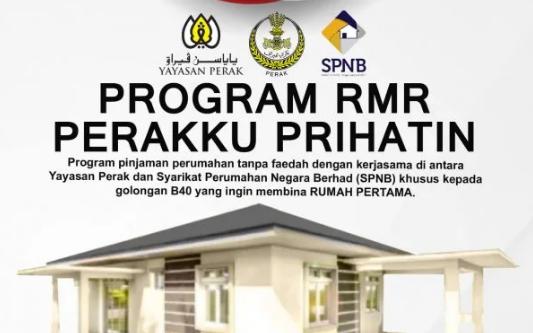 Permohonan Pinjaman Perumahan B40: Program Perakku Prihatin
