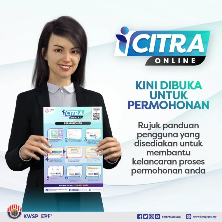 Tarikh Bayaran i-Citra KWSP September 2021