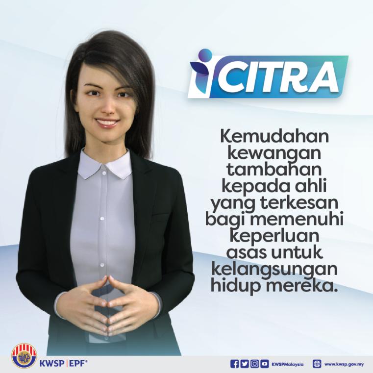 Permohonan Pengeluaran iCitra KWSP RM5000 Secara Online