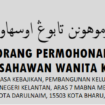 Bantuan Usahawan Wanita Kelantan: Permohonan & Syarat