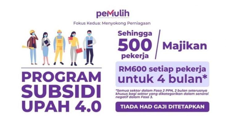 Permohonan Program Subsidi Upah 4.0