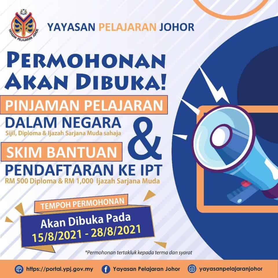 Permohonan Bantuan Pendaftaran IPT