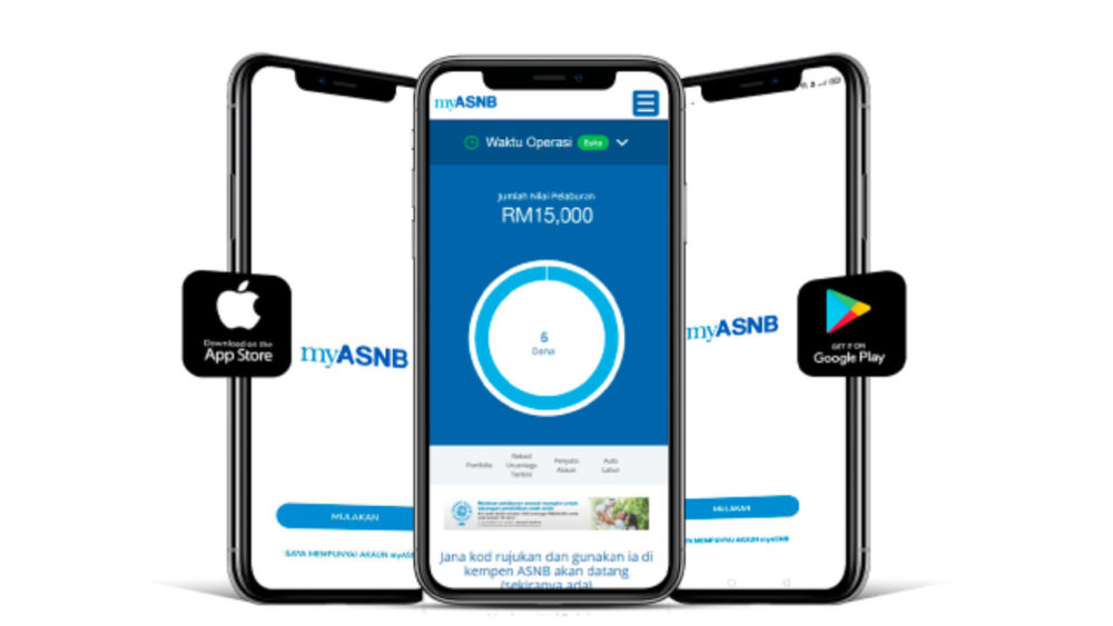 Cara Daftar ASB Online Melalui Aplikasi myASNB 2021