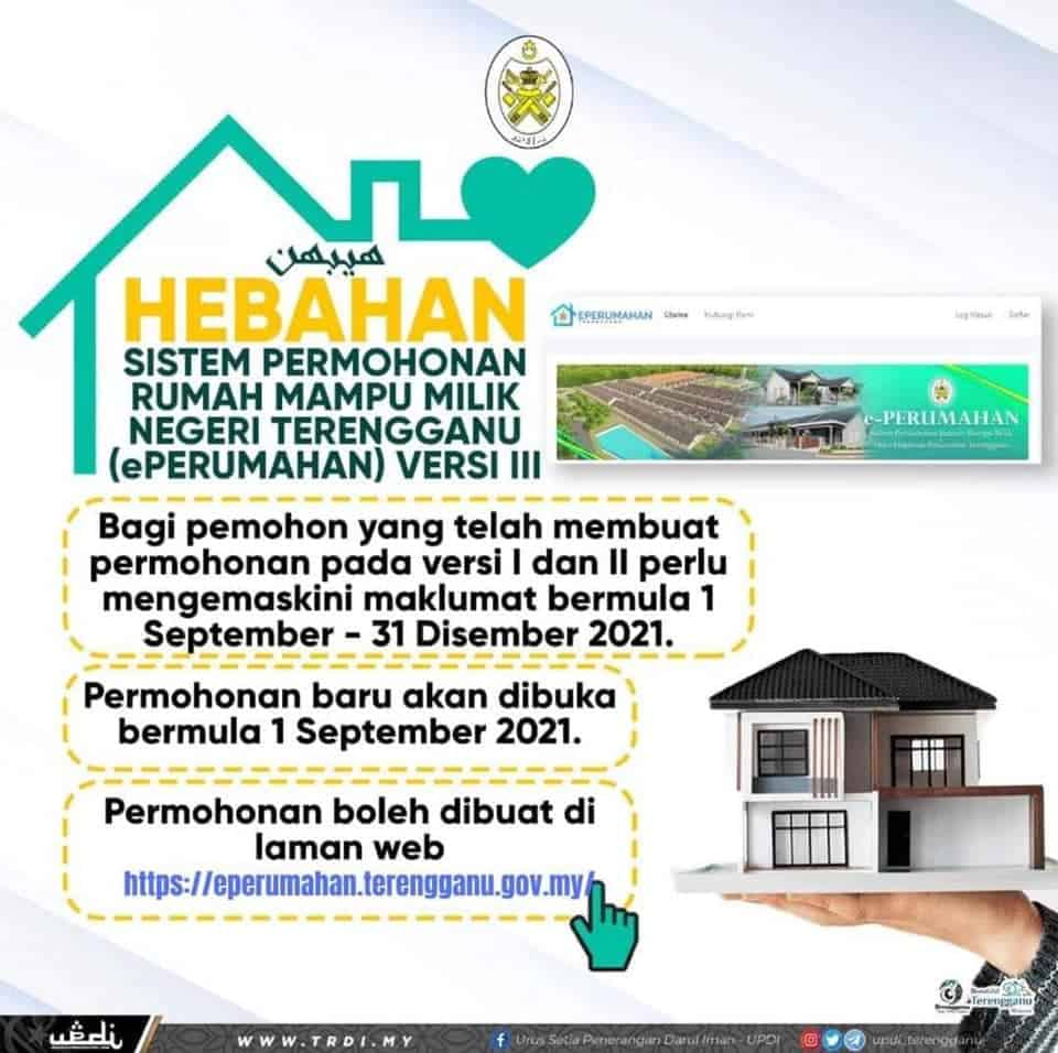 ePerumahan Terengganu Online: Rumah Mampu Milik Terengganu