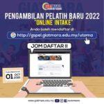 Permohonan GIATMARA Online (GsPel) Pelatih Baru Sesi 2022
